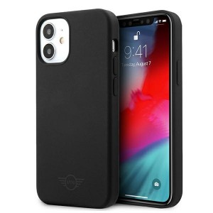 Mini iPhone 12 mini Silikon Hülle / Case / Cover schwarz MIHCP12SSLTBK