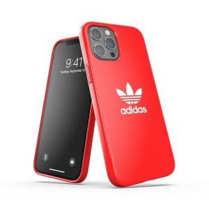 Adidas iPhone 12 Pro Max Case Cover Hülle OR Snap Trefoil Rot