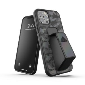 Adidas iPhone 12 / 12 Pro Case / Hülle / Cover SP Grip CAMO schwarz