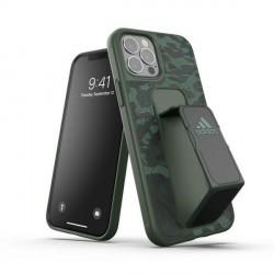 Adidas iPhone 12 / 12 Pro Case / Hülle / Cover SP Grip Leopard grün / schwarz
