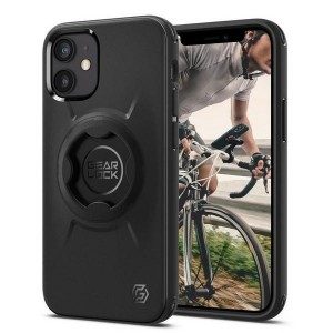 Spigen iPhone 12 Mini GearLock Hülle / Case / Cover black Bike Mount