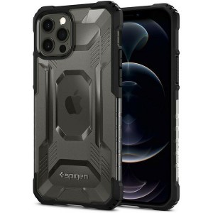 Spigen iPhone 12 / 12 Pro Hülle / Case / Cover Nitro Force schwarz