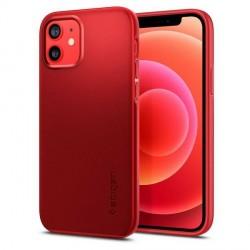 Spigen iPhone 12 / 12 Pro Hülle / Case / Cover Thin Fit Rot