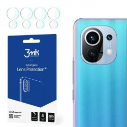 3MK Kameraobjektiv Glas Xiaomi Mi 11 Kameraobjektivschutz 4 Stück
