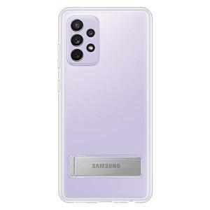 Original Samsung EF-JA725CT A72 A725 Transparent Clear Standing Cover