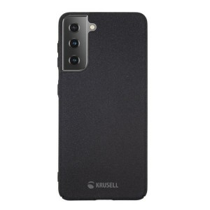 Krusell Samsung S21 Sand Cover / Hülle / Case schwarz