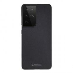 Krusell Samsung S21 Ultra Sand Cover / Hülle / Case schwarz