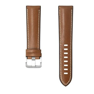 Original Samsung Armband 20mm Kalbsleder Watch3 / Gear S3 Braun GP-TYR855BRBAW