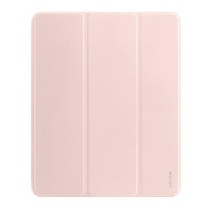 "USAMS iPad 10.2"" 2020 Magnet Smart Cover Hülle 360° Schutz rose"