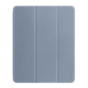 "USAMS iPad 9.7"" Magnet Smart Cover Hülle 360° Schutz grau"