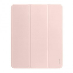 "USAMS iPad Air 2020 10,9"" Magnet Smart Cover Hülle 360° Schutz Rose"