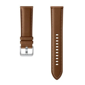 Original Samsung Armband Active2 Watch3 22mm Braun ET-SLR84LAEGEU