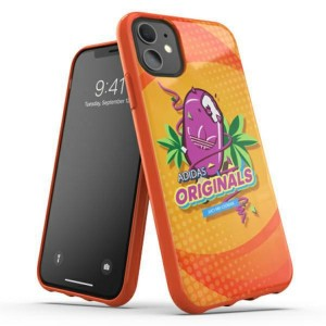 Adidas iPhone 11 BODEGA Hülle / Case / Cover Moulded orange