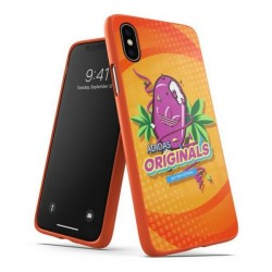 Adidas iPhone Xs / X BODEGA Hülle / Case / Cover Moulded orange