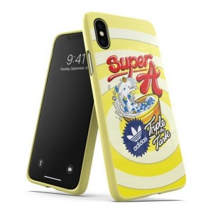 Adidas iPhone Xs / X BODEGA Hülle / Case / Cover Moulded gelb