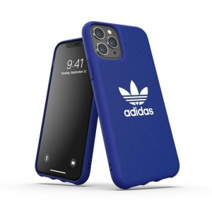 Adidas iPhone 11 Pro OR Hülle / Case / Cover Moulded CANVAS blau