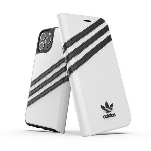 Adidas iPhone 11 Pro Max OR Booklet Hülle / Case / Cover Tasche weiß