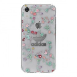 Adidas iPhone XR Hülle / Case / Cover OR Clear AOP multicolor