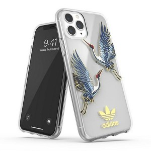 Adidas iPhone 11 Pro Hülle / Case / Cover OR Clear CNY