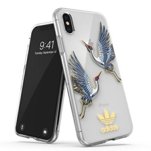 Adidas iPhone XS / X Hülle / Case / Cover OR Clear CNY
