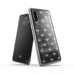 Adidas Huawei P30 Hülle / Case / Cover OR Clear ENTRY silber