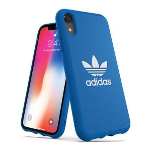 Adidas iPhone XR Hülle / Case / Cover OR Moulded Basic Blau