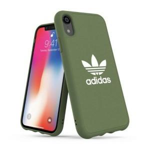 Adidas iPhone Xr Hülle / Case / Cover Moulded CANVAS grün