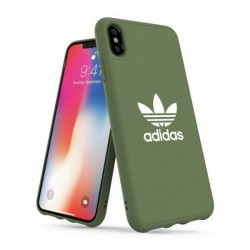 Adidas iPhone Xs Max Hülle / Case / Cover Moulded CANVAS grün
