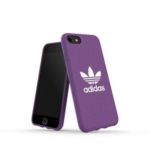 Adidas iPhone SE 2020 / 8 / 7 CANVAS Hülle / Case / Cover Moulded lila