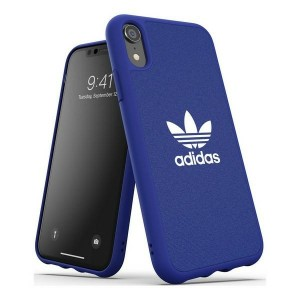 Adidas iPhone Xr CANVAS Hülle / Case / Cover Moulded blau