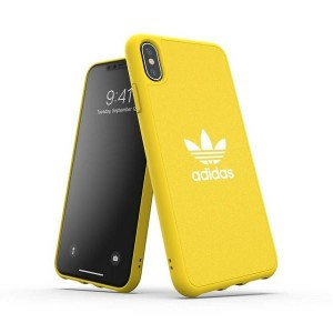 Adidas iPhone Xs Max Hülle / Case / Cover Moulded CANVAS gelb