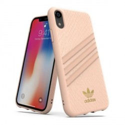 Adidas iPhone XR Hülle / Case / Cover OR Moudled SNAKE pink