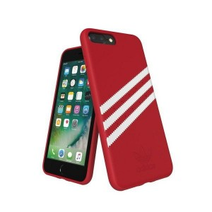 Adidas iPhone SE 2020 / 8 / 7 Hülle / Case / Cover OR Moudled Suede Rot