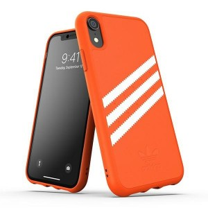 Adidas iPhone XR Hülle / Case / Cover OR Moudled Suede orange