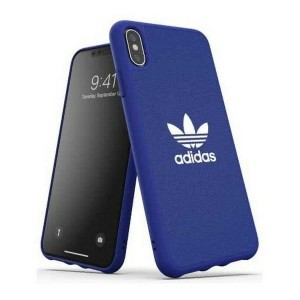 Adidas iPhone Xs Max Hülle / Case / Cover OR Moudled ULTRASuede Blau