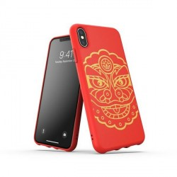 Adidas iPhone X / Xs Hülle / Case / Cover OR Moulded CNY Rot