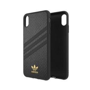 Adidas iPhone Xs Max Hülle / Case / Cover OR Moulded SNAKE schwarz