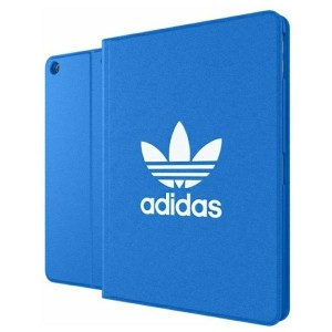 Adidas iPad 9.7 2017 / iPad 9.7 2018 OR Tablet Stand Case blau / weiß