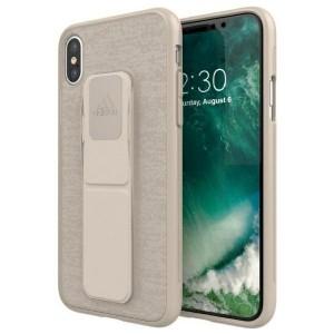 Adidas iPhone X / Xs Case / Hülle / Cover SP Grip sezam braun