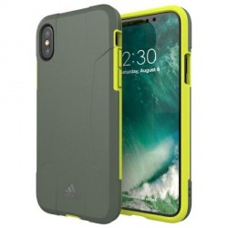 Adidas iPhone X / Xs Hülle / Case / Cover SP Solo yellow Grün