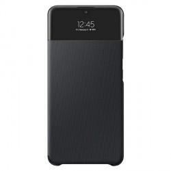 Original Samsung EF-EA325PB A32 LTE S View Wallet Cover schwarz