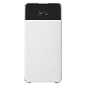 Original Samsung EF-EA325PW A32 LTE S View Wallet Cover weiß