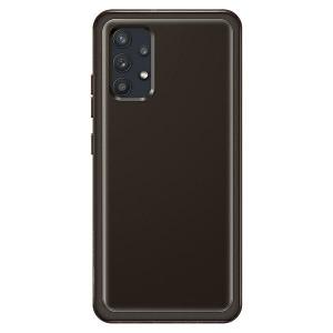 Original Samsung EF-QA325TB A32 LTE Soft Clear Cover schwarz
