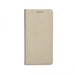 Smart Magnet Samsung Xcover 5 Handytasche Gold + Visitenkartenfach