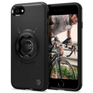 Spigen iPhone SE 2020 8 / 7 GearLock Hülle / Case / Cover black Bike Mount