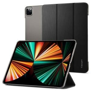 """Spigen iPad Air 12,9"""" 2021 Liquid Folio Hülle / Tasche schwarz matt"""