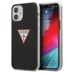Guess iPhone 12 mini Case Cover Hülle Triangle Schwarz