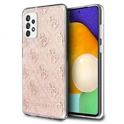 Guess Samsung A52 4G Glitter Hülle Case Cover Pink GUHCA52PCU4GLPI