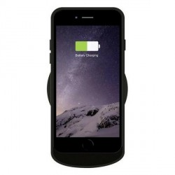 Zens Single Wireless Charger Round schwarz Induktionsladegerät