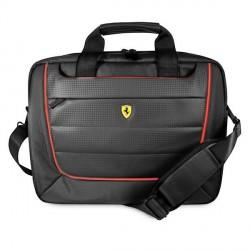 """Ferrari Notebook / Laptop Tasche Scuderia 15,6"""" Carbon Schwarz FECB15BK"""
